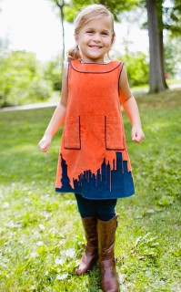 SKYLINE APPLIQUE JUMPER