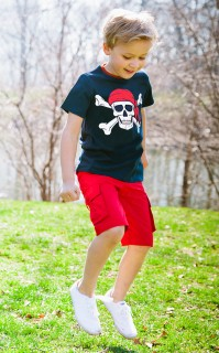 SHORT SLEEVE PIRATE