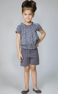 5 POCKET DOBBY STRIPE SHORTS